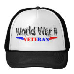 Veterano WW2 Gorros Bordados