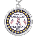Veteranos americanos 2 collares