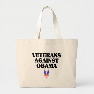Veteranos contra Obama Bolsas De Mano