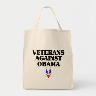 Veteranos contra Obama Bolsa De Mano