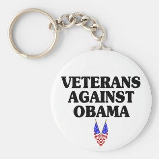Veteranos contra Obama Llaveros
