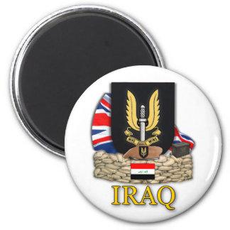 veteranos de guerra de la Royal Air Force Iraq del Imán Redondo 5 Cm