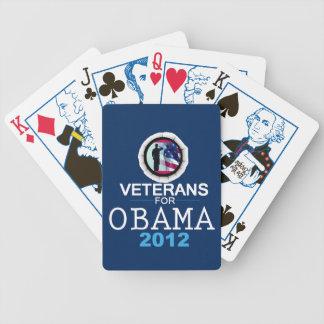 VETERANOS de Obama Barajas De Cartas