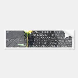 veteranos de Vietnam conmemorativos Pegatina De Parachoque