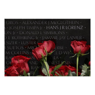 Veteranos de Vietnam conmemorativos Impresiones