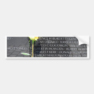 veteranos de Vietnam conmemorativos Pegatina Para Auto