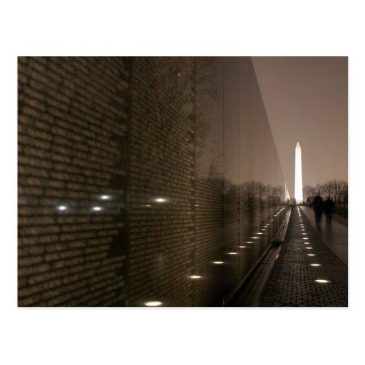 veteranos de Vietnam conmemorativos Tarjeta Postal