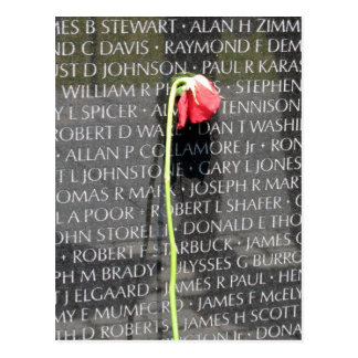 veteranos de Vietnam conmemorativos Tarjetas Postales