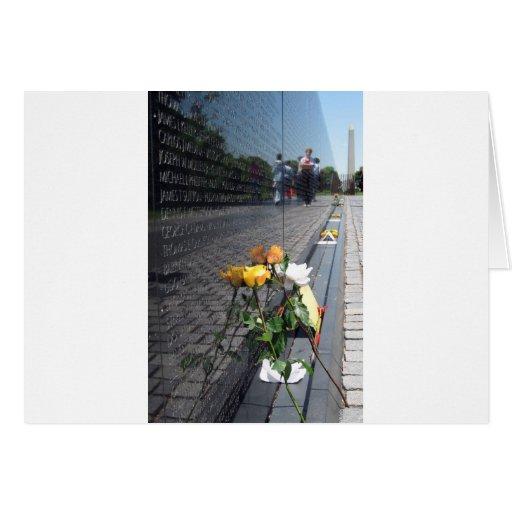 veteranos de Vietnam conmemorativos Tarjeton