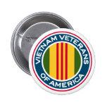 Veteranos de Vietnam del logotipo de América Pin