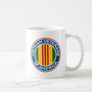 Veteranos de Vietnam del logotipo de América Tazas De Café