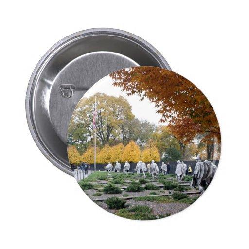 Veteranos del monumento de Guerra de Corea Pin