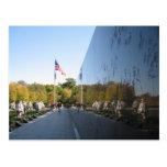 Veteranos del monumento de Guerra de Corea Tarjetas Postales
