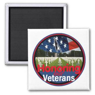 Veteranos Imán Para Frigorifico