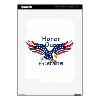 Veteranos iPad 3 Pegatina Skin