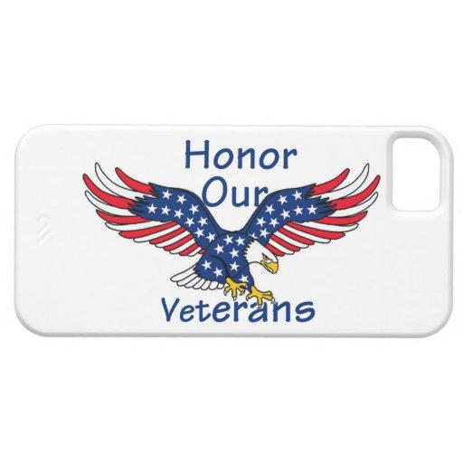 Veteranos iPhone 5 Funda