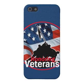 Veteranos iPhone 5 Fundas