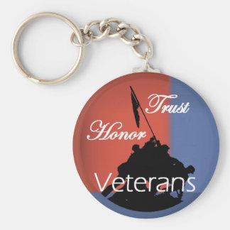 Veteranos Llaveros Personalizados