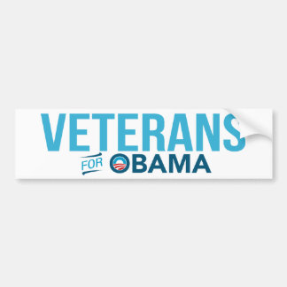 Veteranos para la pegatina para el parachoques de  pegatina para auto
