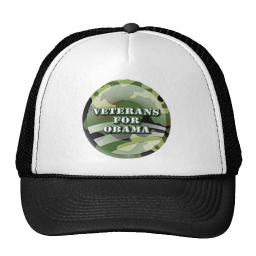 Veteranos para Obama Gorra