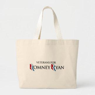 VETERANOS PARA ROMNEY RYAN.png Bolsa De Mano
