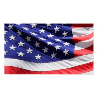 Veteranos patrióticos de los soldados de la tarjetas de visita