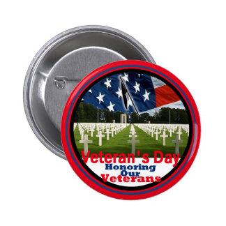 Veteranos Pin