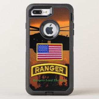 Veteranos renovados aerotransportados de los funda OtterBox defender para iPhone 7 plus