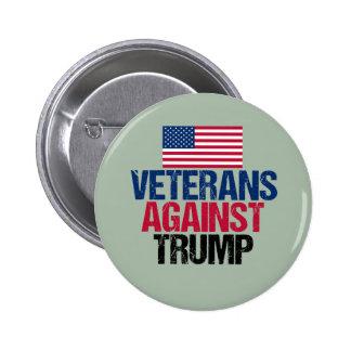 Veterans Against Trump Pinback Button