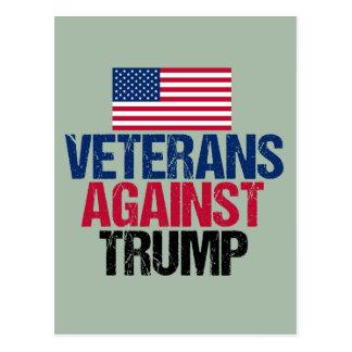 Veterans Against Trump Postcard