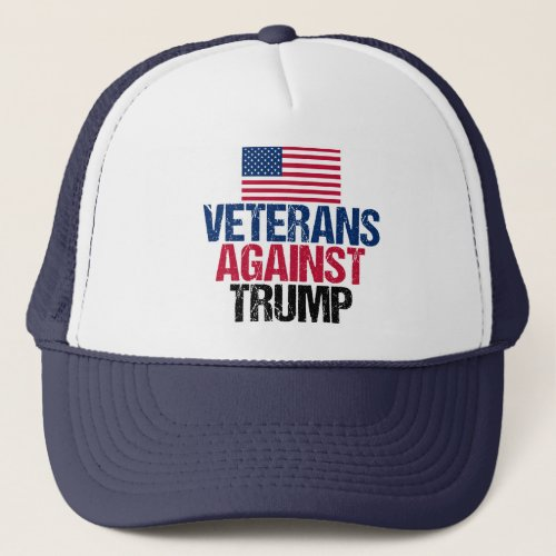 Veterans Against Trump Trucker Hat