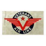VETERANS AIRLINE. Double-Sided STANDARD BUSINESS CARDS (Pack OF 100)