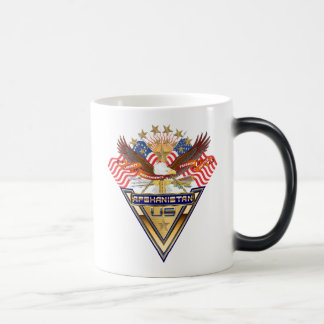 Veterans All Afghanistan New View notes please Magic Mug