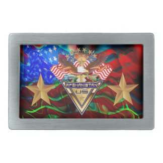 Veterans All Afghanistan New View notes please Rectangular Belt Buckle