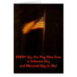 Veterans and Memorial Day Flag Cards