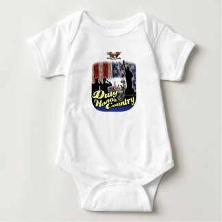 Veterans Baby Bodysuit