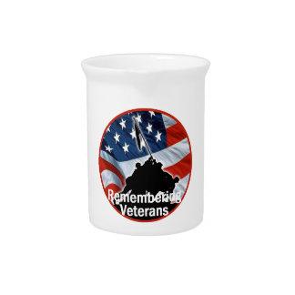 Veterans Beverage Pitcher