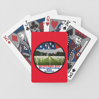 VETERANS BICYCLE PLAYING CARDS