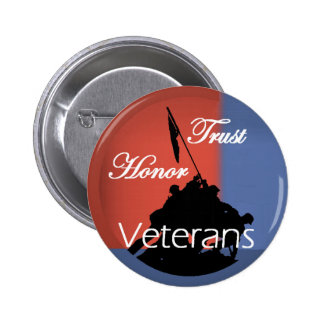 Veterans Pinback Button