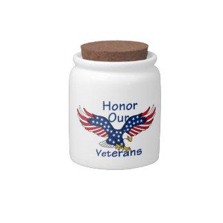 Veterans Candy Jar