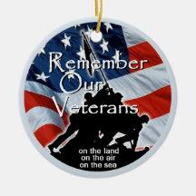 Veterans Christmas Ornaments