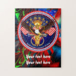 "Veterans Customize Edit &amp; Change background color Jigsaw Puzzle<br><div class=""desc"">Happy New Year!</div>"