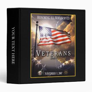 Veterans Day 2007 Binder