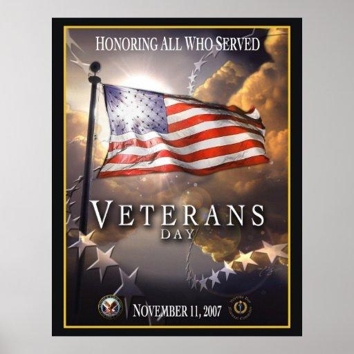 Veteran's Day 2007 Posters