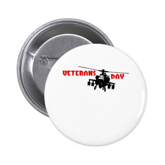 Veteran's Day 2 Inch Round Button