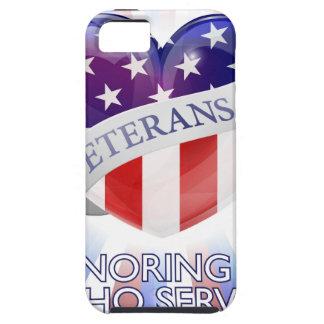 Veterans Day Heart Design iPhone SE/5/5s Case