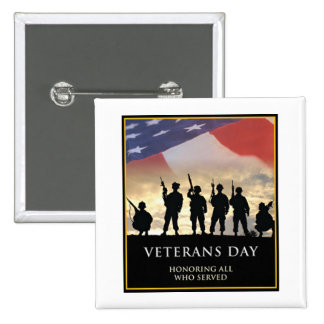 Veterans Day Honors Veterans Day Button