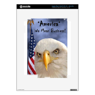"""""""Veterans Day"""" iPad 3 Decals"""