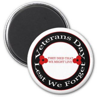Veterans day - Magnet