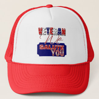 Veteran's day memorial war soldier trucker hat
